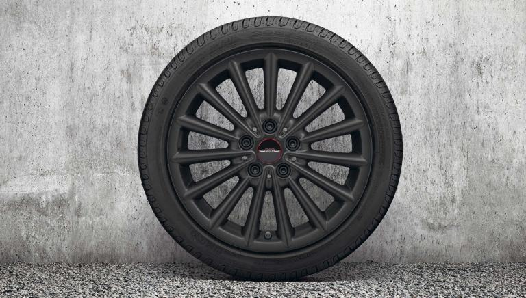 "Jante JCW Multi Spoke 17"" – Jet Black Matt – 505"