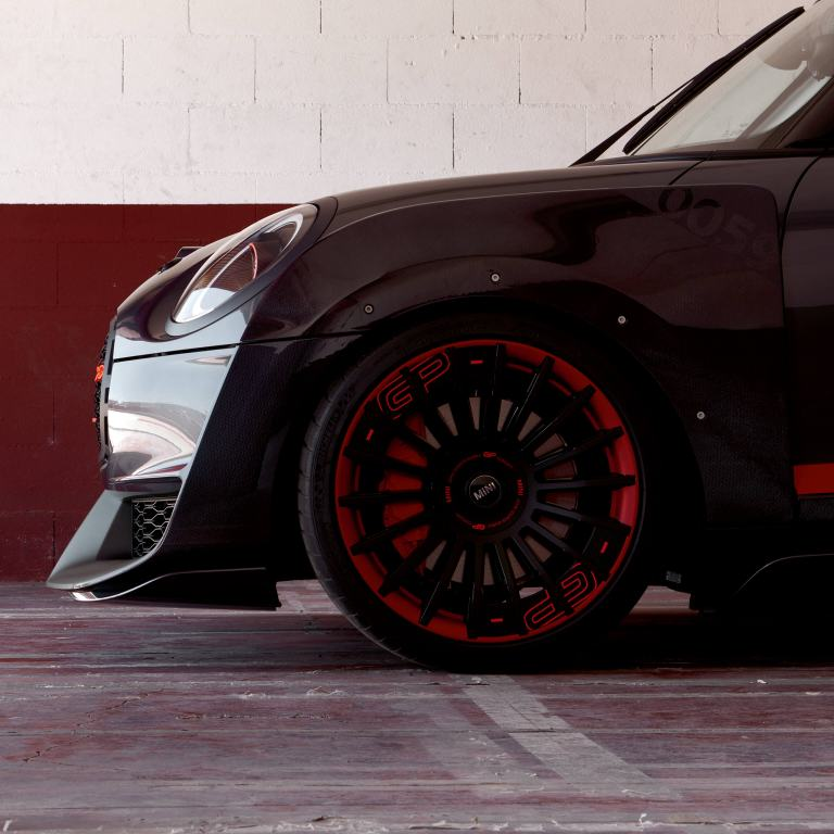 MINI John Cooper Works GP Concept – vista lateral/jantes